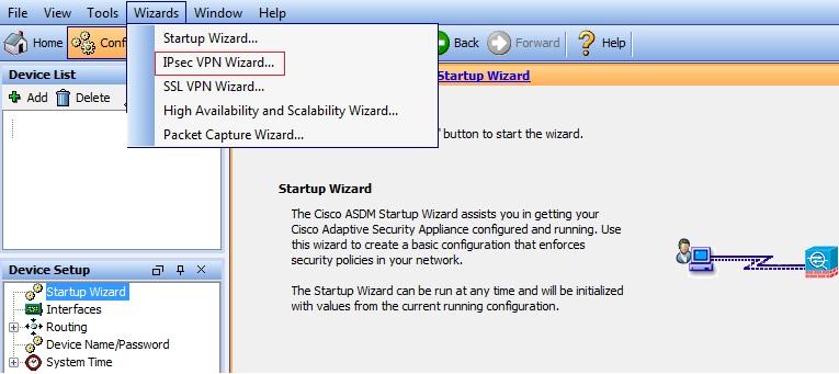 Linux site to site vpn cisco asa