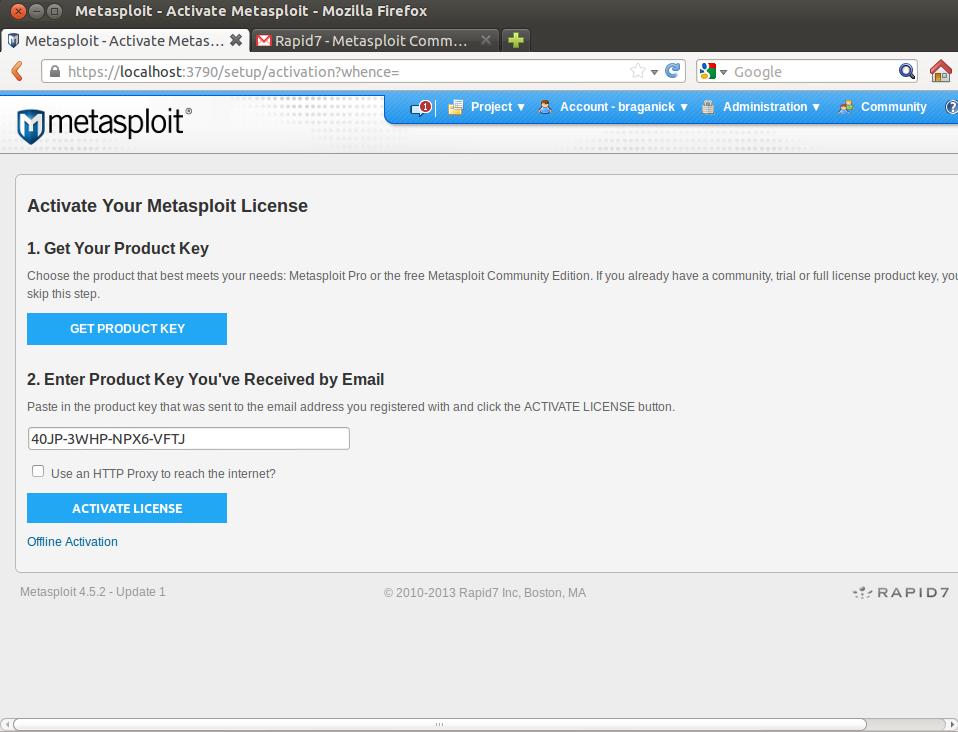 Metasploit – Instalação e utilização em ambiente GNU/Linux
