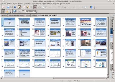 Linux:  Slides JPG - Criando apresentações para projetores com suporte a miniaturas de imagens no LibreOffice