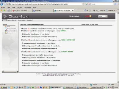Linux: Guia completo Ocomon M�dulo admin (exclusivo VOL)