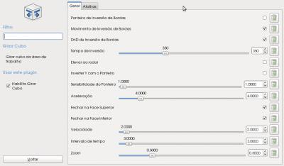 Linux: Configura��o do  Compiz Fusion p�s instala��o