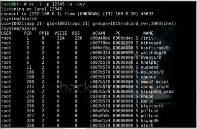 Linux: Explorando celulares Android via Web com airbase-ng