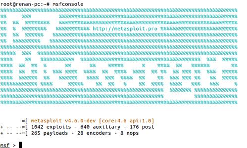 Linux: Metasploit - Instalação e utilização em ambiente GNU/Linux