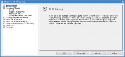 Linux: Configurando OpenOffice para salvar arquivos no formato ( .doc ), ( .xls ) e ( .ppt ) automaticamente.
