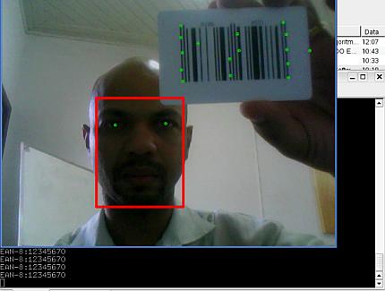 Linux: Zebra e localiza��o de face