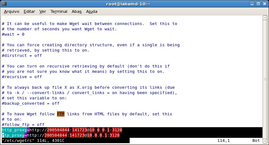 Linux yum proxy 認証