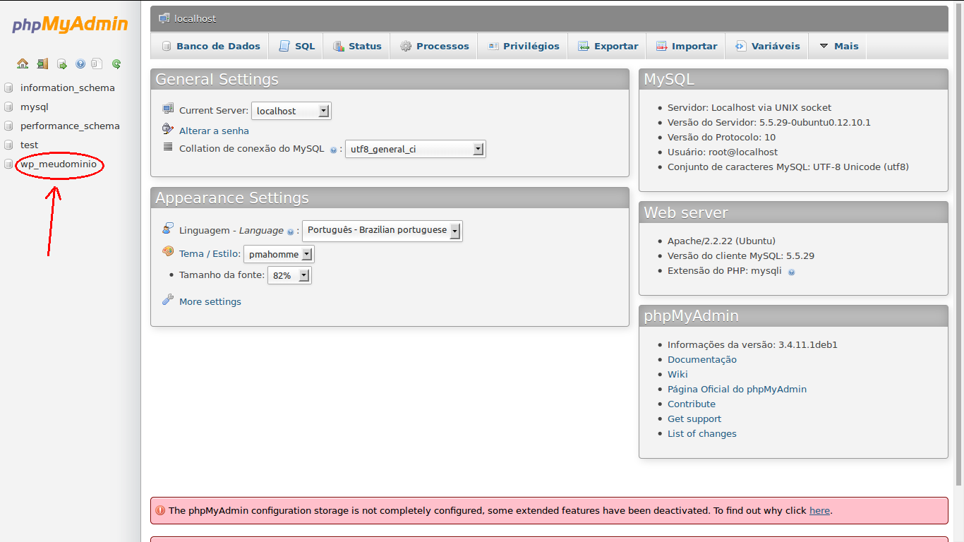 R pida instala o do wordpress no ubuntu dica for Terr root word