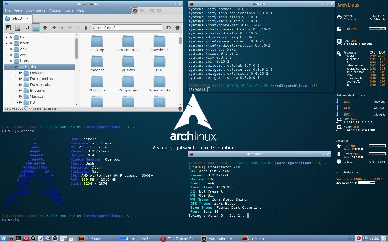 Hasil gambar untuk linux arch