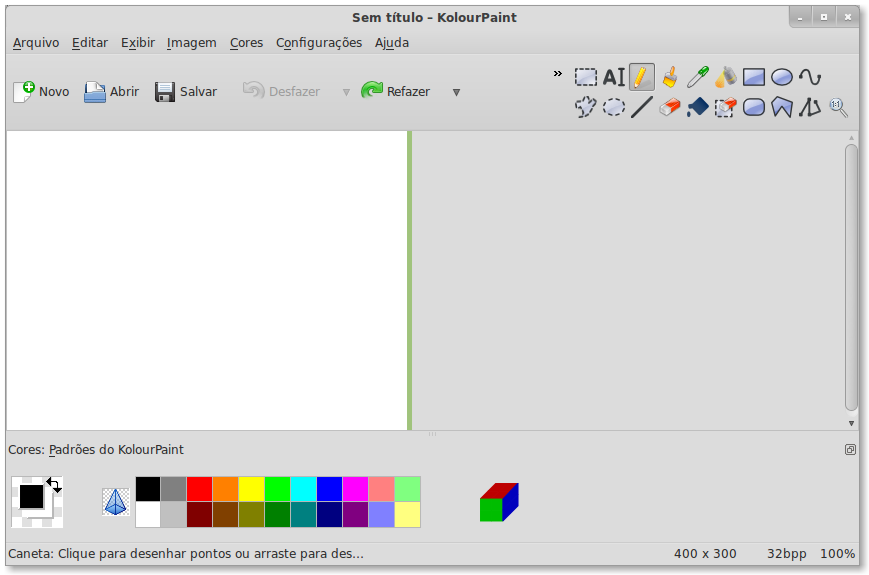 Alternativas ao ms paint pra linux dica Paint for linux