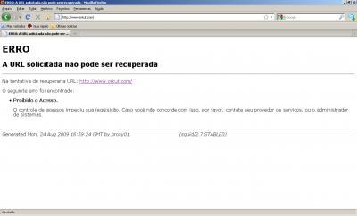Linux: Personalizando o arquivo 'ERR_ACCESS_DENIED' / 'ACESSO NEGADO' no Squid