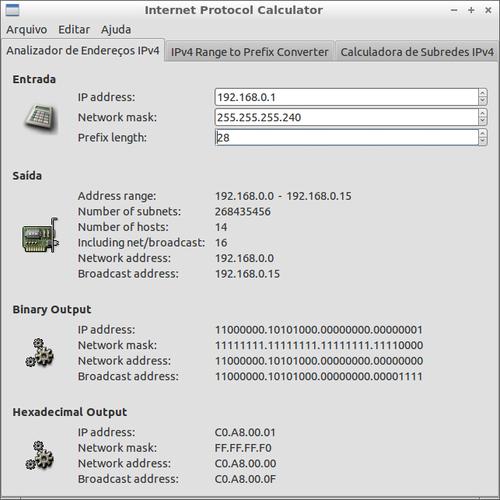 Linux: Calculadora de Endereço IP com GIP