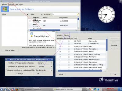 Linux: Como instalar pacotes e/ou atualizar completamente o Mandriva, com facilidade.