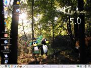 Linux: kuruma roxzinho