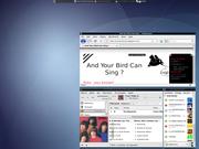 Linux: blue Openbox