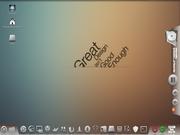 Linux: Mint Elegant gnome com awn