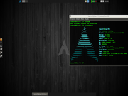Arch Linux LXDE - 2014