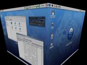Slackware 12.1 em 3D