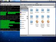 Linux: Netbook com Lubuntu 12.10 e tema Mac OS X.
