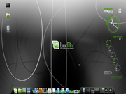 Linux: Mint 13 + AWN + Conky