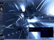 Linux: Abstract Blue