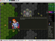 Linux: Battle for Wesnoth - Victorious! :-)
