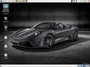 Linux: Ubuntu Black Ferrari
